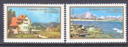Romania  2724-5  *  BLACK  SEA  MOUNTAINS - 1948-.... Republics