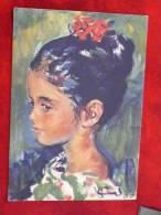 Ferran Callico : La Petite Jacqueline Wiener 1960 - Peintures & Tableaux