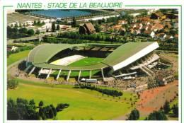 CPM NANTES (Loire Atlantique) - Le Stade De La Beaujoire 50000 Places Berdje Agopyan Architecte - Nantes