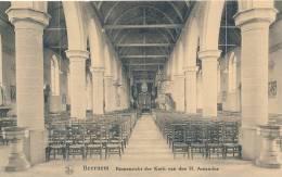 BEERNEM * BINNENZICHT DER KERK H. AMANDUS