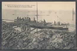 44 - Après Les Inondations De La Loire - 1911 - Travaux De Réfection De La Levée De La Divatte - AN 13 - France