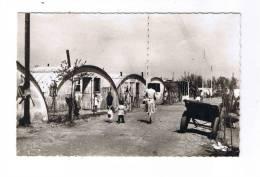 """Carte  Avec Texte Du  """"Père  Joseph""""  -  Bidonville  -  Baraquements En Tôle -  Misère - France"""