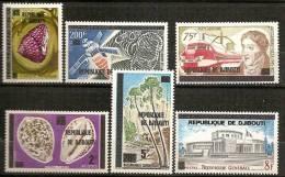 Djibouti, Les Premiers Timbres De La République, 1977, Neufs ** - Dschibuti (1977-...)