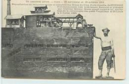 SAINT ETIENNE  - 11em Concours Lépine En 1911; Reproduction En Réduction Des Mines Du Cros, Puits Camille. - Mijnen