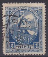 LETLAND - Michel - 1920 - Nr 43A - Gest/Obl/Us - Latvia
