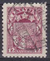 LETLAND - Michel - 1923 - Nr 94 - Gest/Obl/Us - Letonia