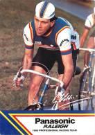 Gérard VELDSCHOTEN, Autographe Manuscrit, Dédicace. 2 Scans. Panasonic Raleigh - Cyclisme