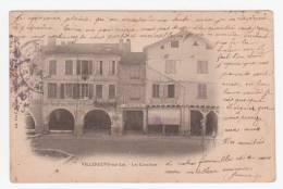 47 - VILLENEUVE Sur LOT - Les Cornières - Vue De Commerces - Villeneuve Sur Lot
