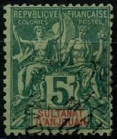 Anjouan (1892) N 4 (o)