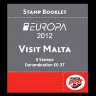 MALTA 2012 - Europa 2012 - Carnet Neufs // Mnh Booklet - Europa-CEPT