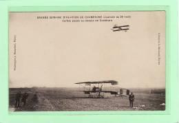 TRANSPORT / AVIATION / GRANDE SEMAINE DE L´AVIATION DE CHAMPAGNE(journée Du 29 Août) Curtiss Passe Au-dessus De Cockburn - Meetings