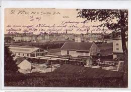 -St Poelten Station Railway  Used 10.03.1917  Condition Fine - Österreich