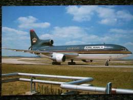 LOCHKEED L 1011 TRISTAR  AIR LANKA (COLOR ROYAL JORDANIAN) JY-AGB - 1946-....: Modern Era