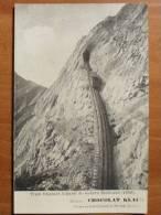 Suisse - Switzerland - Train, Parois De Rochers Eselwand, 1850 - Vers 1900 - Autres