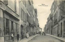 33 BLAYE LA RUE SAINT SIMON BOULANGERIE DE LA MARINE - Blaye