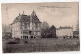 Saint-Denis-de-Cabanne, Château De La Durie Et Dépendances, Façade Principale, 1919, Photo R. L., éd. Aubajet - Frankreich