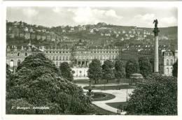 Stuttgart, Schloßplatz, 1942 - Stuttgart