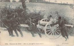 WW1 - Guerre De 1914 - Mise En Place D'un Canon De 75 - Guerre 1914-18