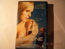Simone °°° Al Pacino - Cassettes Vidéo VHS