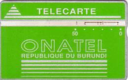 BURUNDI ONATEL 50U VERTE GREEN UT 406A..... - Burundi