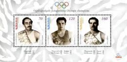 Ref. 259777 * NEW *  - ARMENIA . 2009. OLYMPIC CHAMPIONS. CAMPEONES OLIMPICOS - Armenië