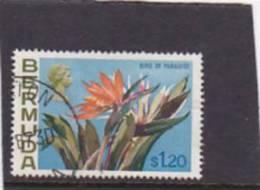 Bermuda 1970  QEII Bird Of Paradise $ 1.20 Used - Bermuda