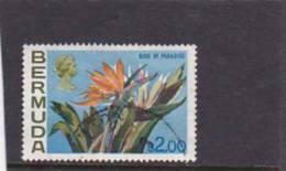 Bermuda 1975  QE Definitive  Bird Of Paradise Used - Bermuda