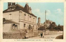 Loire Atlantique -ref A303- Saint Etienne De Mont-luc - Rue De La Gare   - - Saint Etienne De Montluc