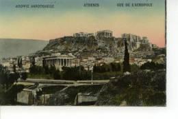 Athènes Vue De L'Acropole - Grèce