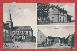 67 - DOMFESSEL - Hauptstrasse - Kirche - Dorfgasse - Bahnhof - Gare - France