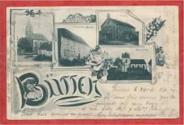 67 - BÜTTEN - Multivies - Wirtschaft STOFFEL - Kirchen - Schulhaus - France