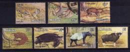 Malaysia - 1979 - Wildlife (Part Set, With Watermark) - Used - Malaysia (1964-...)