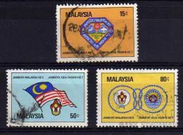 Malaysia - 1982 - 5th Malaysian Boy Scout Jamboree - Used - Malaysia (1964-...)