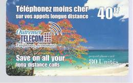 Outremer TELECOM - 40 FF - Frankrijk