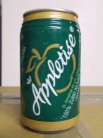 Alt138 Lattina Bibita, Boite Boisson, Can Drink, Lata Bebida, 33cl, Appletise, Zumo Natural Manzana, Mela, Apple, 1998 - Cannettes