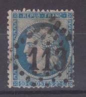 Lot N°19862   Variété/n°37, Oblit GC 113 ANNONAY(6), Filet NORD - 1870 Siege Of Paris