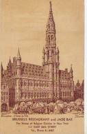 BRUSSELS RESTAURANT AND JADE BAR  THE HOME OF BELGIN COUSINE IN NEW YORK  ESTADOS UNIDOS  USA   OHL   OHL - Pubblicitari