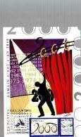 Carte Demain C'est L'an 2000 Dernier Jour 1999 Clermont Ferrand Portes De L'an 2000 - 1990-99
