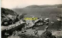Cpsm 83 Ile Du Levant, Port De L'Aygade, Affranchie 1951 - France