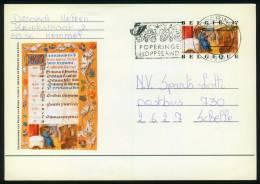 Belgien BPK  1997  Mi: P 527 - P 536, P 538  Kalenderminiaturen (11 Karten) - Entiers Postaux