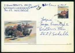 Belgien BPK  1999  Mi: P 541 - P 543  Details Von Gemälden - Antoon Van Dyck ( 3 Karten Kpl. ) - Entiers Postaux