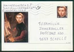 Belgien BPK  1999  Mi: P 545 - P 547  Details Von Gemälden - Div. Maler ( 3 Karten Kpl. ) - Entiers Postaux