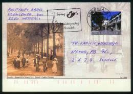 Belgien BPK  2000  Mi: P 566 - P 568, P 571  Ansichten Von Brüssel Früher Und Heute (4 Karten) - Entiers Postaux