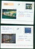 Belgien BPK  1998  Mi: P 503 - P 504  Kunstwerke - Roger Ravel+Francoise Schein (2 Karten Kpl.) - Entiers Postaux