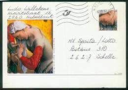 Belgien BPK  1999  Mi: P 539 - P 540  Details Von Gemälden - Rogier Van Der Weyden (2 Karten) - Entiers Postaux
