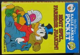 WALT DISNEY Donald Duck In Swedish 1990 = 256 Pages - Libros, Revistas, Cómics