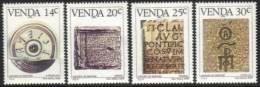 Venda - 1986 History Of Writing Set (**) # SG 139-142 , Mi 138-141 - Venda