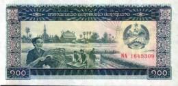 BANCONOTA DEL LAOS - 100 KIP - Laos