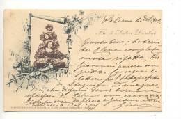 3643 LIBERTY 3 SISTERS DUMBAR 1902 VIAGGIATA - Spettacolo