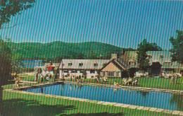 Canada Quebec Mont Tremblant Lodge In The Laurentians & Swim